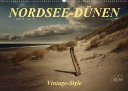 Cover-Bild zu Nordsee-Dünen, Vintage-Style (Wandkalender 2021 DIN A2 quer) von Roder, Peter