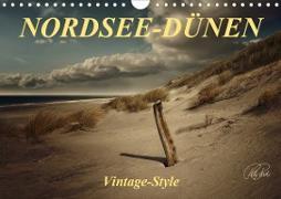 Cover-Bild zu Nordsee-Dünen, Vintage-Style (Wandkalender 2021 DIN A4 quer) von Roder, Peter