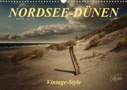Cover-Bild zu Nordsee-Dünen, Vintage-Style / Geburtstagskalender (Wandkalender 2021 DIN A3 quer) von Roder, Peter