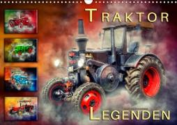 Cover-Bild zu Traktor Legenden (Wandkalender 2021 DIN A3 quer) von Roder, Peter