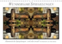 Cover-Bild zu Wundersame Spiegelungen (Wandkalender 2021 DIN A4 quer) von Roder, Peter