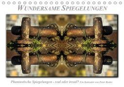 Cover-Bild zu Wundersame Spiegelungen (Tischkalender 2021 DIN A5 quer) von Roder, Peter