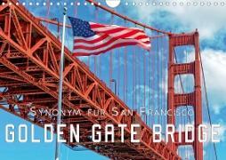 Cover-Bild zu Golden Gate Bridge - Synonym für San Francisco (Wandkalender 2021 DIN A4 quer) von Roder, Peter