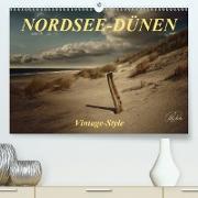 Cover-Bild zu Nordsee-Dünen, Vintage-Style (Premium, hochwertiger DIN A2 Wandkalender 2021, Kunstdruck in Hochglanz) von Roder, Peter