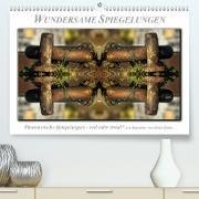 Cover-Bild zu Wundersame Spiegelungen (Premium, hochwertiger DIN A2 Wandkalender 2021, Kunstdruck in Hochglanz) von Roder, Peter