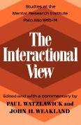 Cover-Bild zu Watzlawick, Paul (Hrsg.): The Interactional View