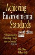 Cover-Bild zu Gilbert, Mike.: Achieving Environmental Standards