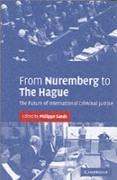 Cover-Bild zu Sands, Philippe (Hrsg.): From Nuremberg to The Hague (eBook)