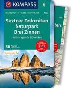 Cover-Bild zu Hüsler, Eugen E.: KOMPASS Wanderführer WF 5733 Sextner Dolomiten, Naturpark Drei Zinnen. 1:50'000