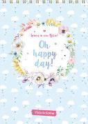 Cover-Bild zu Spring in eine Pfütze! Oh happy day! Wandkalender 2022 von ViktoriaSarina