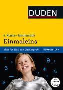 Cover-Bild zu Übungsblock: Mathematik - Einmaleins, 4. Klasse - bis 1.000.000 von Schreiber, Beate