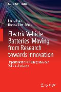 Cover-Bild zu Electric Vehicle Batteries: Moving from Research towards Innovation (eBook) von Müller, Beate (Hrsg.)