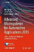 Cover-Bild zu Advanced Microsystems for Automotive Applications 2015 (eBook) von Schulze, Tim (Hrsg.)
