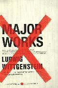 Cover-Bild zu Wittgenstein, Ludwig: Major Works