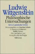 Cover-Bild zu Wittgenstein, Ludwig: Philosophische Untersuchungen