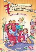 Cover-Bild zu Leselöwen - Das Original - 7-Minuten-Geschichten zum Lesenlernen - Das Beste für Mädchen von Loewe Erstlesebücher (Hrsg.)