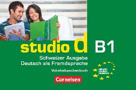Cover-Bild zu Studio d, Deutsch als Fremdsprache, Schweiz, B1, Vokabeltaschenbuch