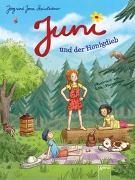 Cover-Bild zu Juni und der Honigdieb von Steinleitner, Jörg