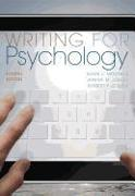 Cover-Bild zu Mitchell, Mark (Clarion University of Pennsylvania): Writing for Psychology