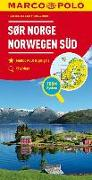 Cover-Bild zu MARCO POLO Regiokarte NO Norwegen Süd 1:325 000. 1:325'000
