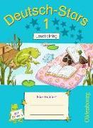 Cover-Bild zu Deutsch-Stars - Lesetraining 1. Schuljahr. Übungsheft mit Lösungen