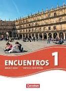 Cover-Bild zu Encuentros 1. Edición 3000. Schülerbuch von Amann-Marín, Sara