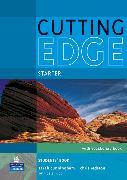 Cover-Bild zu New Cutting Edge Starter Students' Book (with CD-ROM) von Cunningham, Sarah