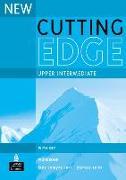 Cover-Bild zu Upper-Intermediate: New Cutting Edge Upper Intermediate Workbook (With Key) - New Cutting Edge von Comyns-Carr, Jane