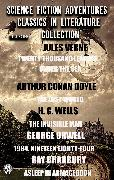 Cover-Bild zu Doyle, Arthur Conan: Science Fiction Adventures Classics in Literature Collection. Illustrated (eBook)
