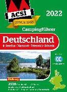 Cover-Bild zu ACSI Campingführer Deutschland 2022 von ACSI