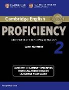 Cover-Bild zu Cambridge English Proficiency 2. Student's Book with Answers