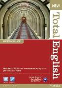 Cover-Bild zu New Total English Intermediate Students' Book (with Active Book CD-ROM) & MyLab von Roberts, Rachael