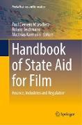 Cover-Bild zu Handbook of State Aid for Film von Karmasin, Matthias (Hrsg.)
