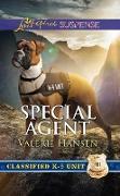 Cover-Bild zu Hansen, Valerie: Special Agent (Mills & Boon Love Inspired Suspense) (Classified K-9 Unit, Book 3) (eBook)