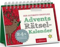 Cover-Bild zu Golluch, Norbert: Der ultimativ knifflige Advents-Rätsel-Kalender