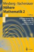 Cover-Bild zu Höhere Mathematik 2 von Meyberg, Kurt