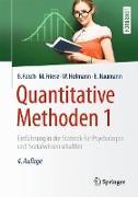 Cover-Bild zu Quantitative Methoden 1 von Rasch, Björn