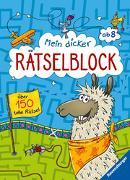 Cover-Bild zu Mein dicker Rätselblock von Bürgermeister, Tanja