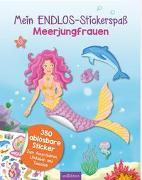 Cover-Bild zu Mein Endlos-Stickerspaß Meerjungfrauen von Metzen, Isabelle (Illustr.)