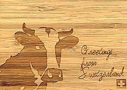 Cover-Bild zu 27345 Bambus Kuh GVA_Swiss_Greetings105