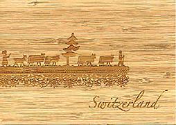 Cover-Bild zu 27344 Bambus Kühe Switzerlan GVA_Swiss_Icons104