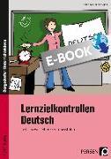 Cover-Bild zu Lernzielkontrollen Deutsch 9./10. Klasse (eBook) von Ebner, Kathrin