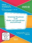 Cover-Bild zu Schwierige Situationen in der Kinder- und Jugendlichenpsychotherapie (DVD 13) von Luttermann, Alfred (Hrsg.)