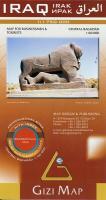 Cover-Bild zu Iraq Geographical Map 1 : 1 175 000. 1:1'750'000 / 1:60'000