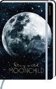 Cover-Bild zu myNOTES Notizbuch A5: Stay wild, moonchild - notebook medium, dotted - für Träume, Pläne und Ideen / ideal als Bullet Journal oder Tagebuch