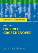 Cover-Bild zu Bernhardt, Rüdiger: Die Dreigroschenoper. Königs Erläuterungen (eBook)