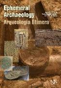 Cover-Bild zu Ephemeral Archaeology von Cerdán, Angel Morillo