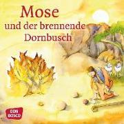 Cover-Bild zu Mose und der brennende Dornbusch. Mini-Bilderbuch von Nommensen, Klaus-Uwe