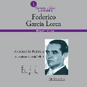 Cover-Bild zu Antología poética (Audio Download) von Lorca, Federico García