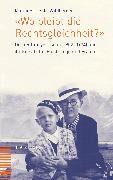 """Cover-Bild zu """"Wo bleibt die Rechtsgleichheit?"""" (eBook) von Jehle-Wildberger, Marianne"""